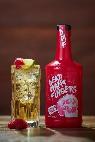 70cl Raspberry Rum by Dead Mans Fingers