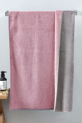 Reversible Egyptian Cotton Towel
