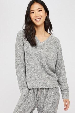 Accessorize Grey Marl Sweatshirt
