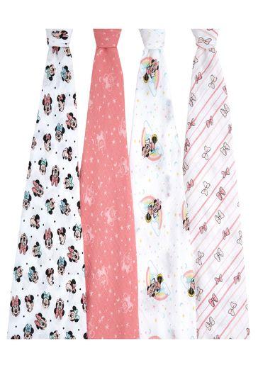 aden + anais®  Essentials Mickey Stargazer Muslin 4-Pack Blanket (112 X 112cm)