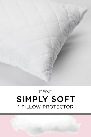 Simply Soft Single Pillow Protector