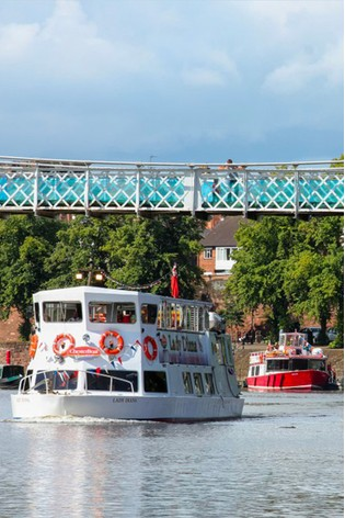 Family Chester City River Sightseeing Cruise Gift by Virgin Experience Days