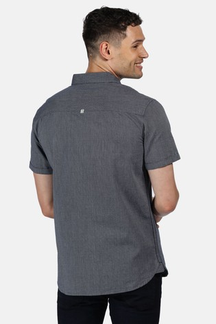 Regatta Blue Damari Short Sleeve Shirt