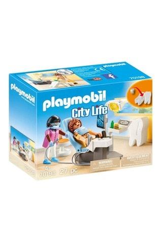 Playmobil® 70198 City Life Hospital Dentist With Tooth Storage Box