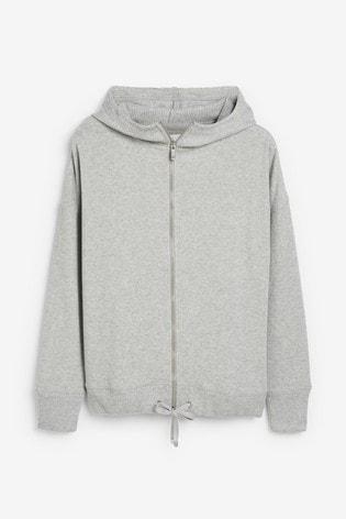 Grey Supersoft Hoody