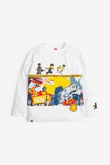 White LEGO® City T-Shirt (2-12yrs)