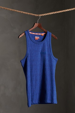 Superdry Organic Cotton Vintage Embroidery Vest Top