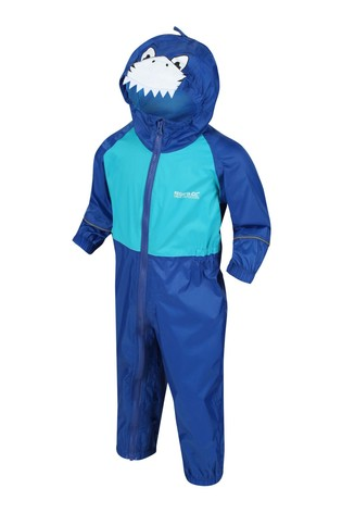 Regatta Charco Waterproof Animal Hooded Puddlesuit