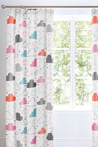Cosatto Fairy Clouds Pencil Pleat Curtains