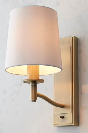 Gallery Direct Brass Connie Wall Light