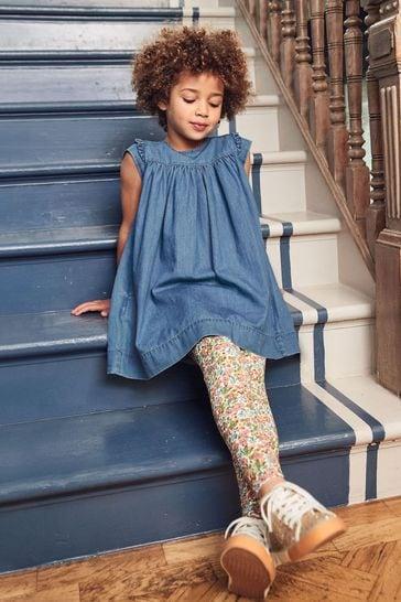 Mini Boden Blue Easy Everyday Dress