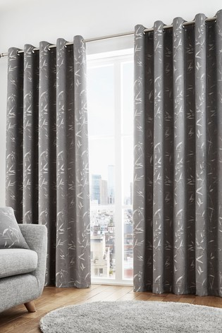 Sagano Eyelet Curtains by Curtina