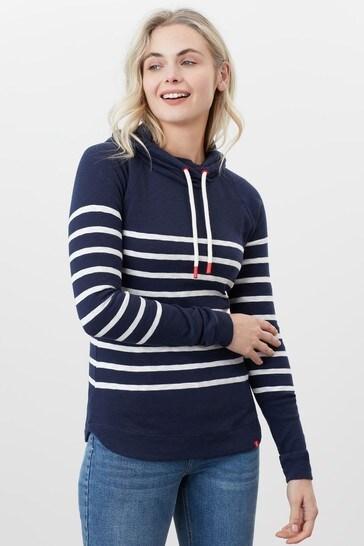 Joules Blue Hooded Sweatshirt