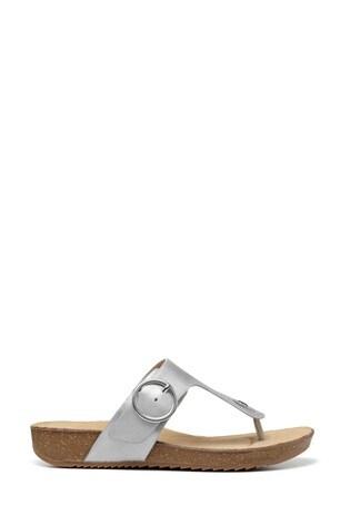 Hotter Metallic Resort Slip-On Cork Sandals