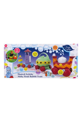 In The Night Garden Musical Activity Ninky Nonk Bubble Train