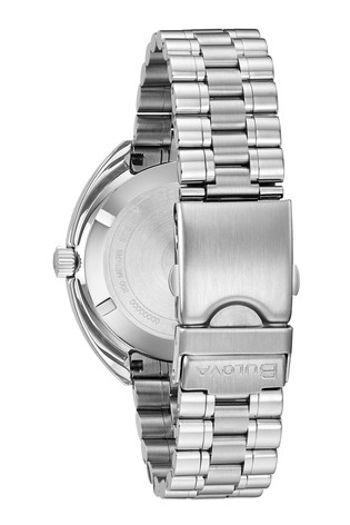 Bulova Oceanographer Blue/Red Bracelet Watch
