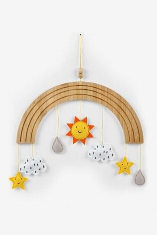 Natural Hanging Wooden Wall Decoration