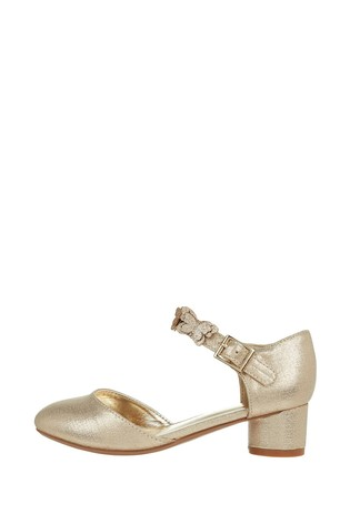 Monsoon Gold Savannah Butterfly Two Part Shoes