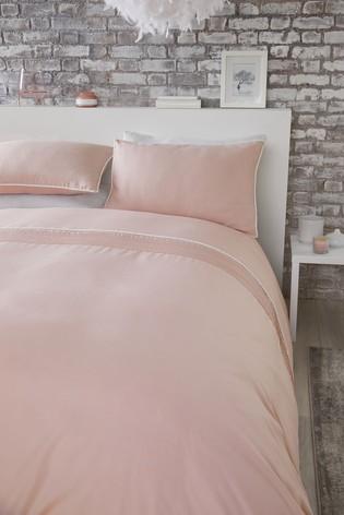 Pom Pom Duvet Cover and Pillowcase Set by Serene