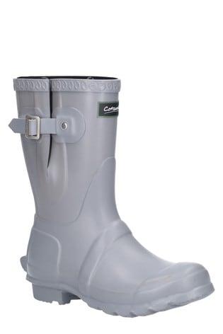 Cotswold Grey Windsor Short Wellington Boots