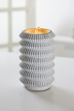 Bubbling LED Water Candle by Outdoor Living Company