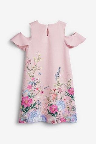 Multi Pink Occasion Dress (3-16yrs)