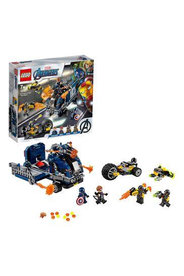 LEGO 76143 Super Heroes Marvel Avengers Truck Takedown Set