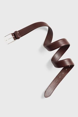GANT Brown Classic Leather Belt