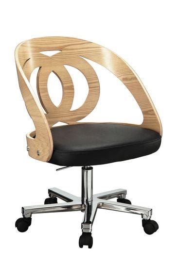 Helsinki Office Chair Oak by Jual