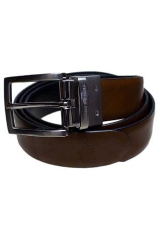 Raging Bull Brown Reversible Belt