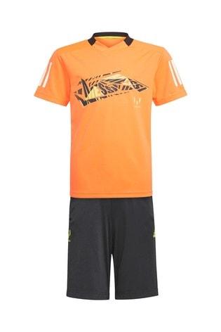 adidas Orange/Black Messi B.A.R. Set