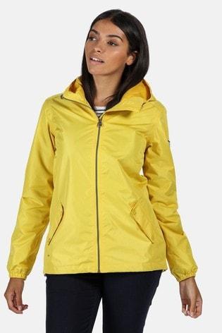 Regatta Yellow Lilibeth Waterproof Jacket