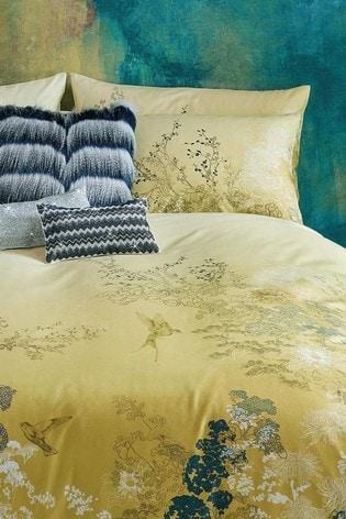 Set of 2 Rita Ora Rhoda Floral Pillowcases