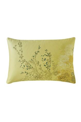 Set of 2 Rita Ora Yellow Rhoda Floral Pillowcases