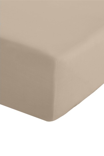 Catherine Lansfield Percale Extra Deep Fitted Sheet