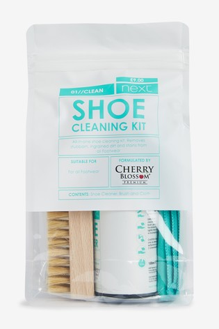 Cherry Blossom Shoe Cleaning Kit