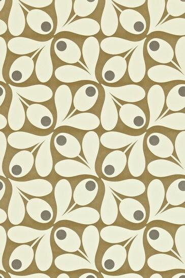 Orla Kiely Acorn Spot Wallpaper