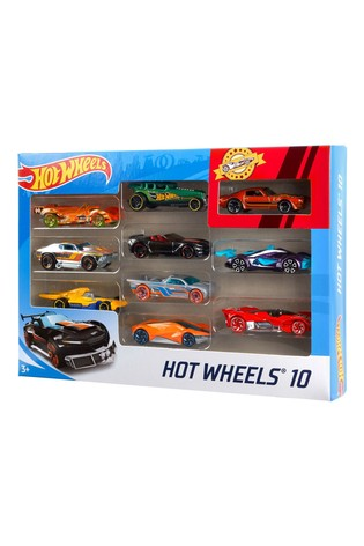 Hot Wheels Cars 10 Pack