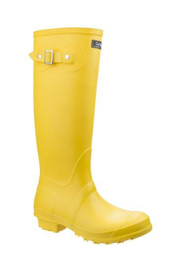 Cotswold Yellow Sandringham Wellington Boots