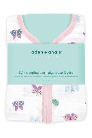 aden + anais Floral Fauna Essentials 1.0 TOG Summer Sleeping Bag