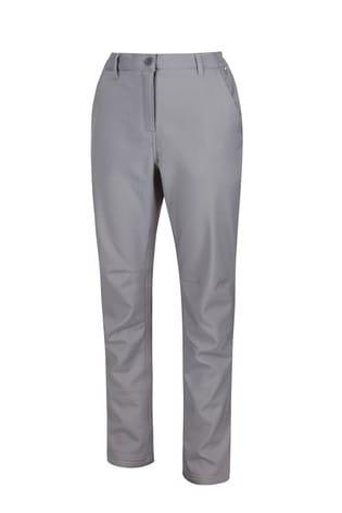 Regatta Grey Womens Fenton Softshell Trousers