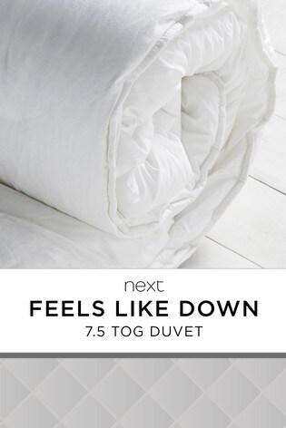 Feels Like Down 7.5 Tog Duvet