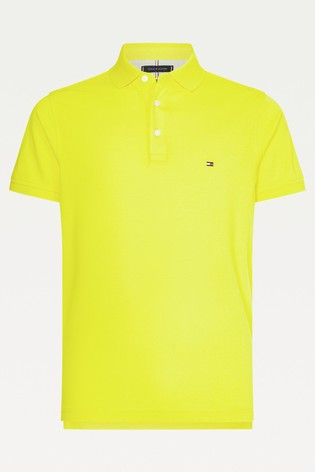 Tommy Hilfiger Yellow 1985 Slim Polo