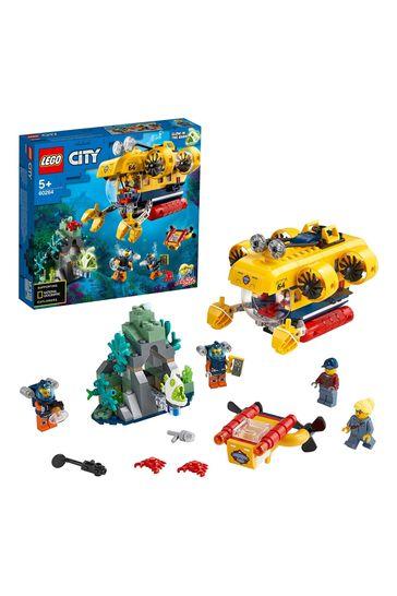 LEGO 60264 City Ocean Exploration Submarine Deep Sea Set