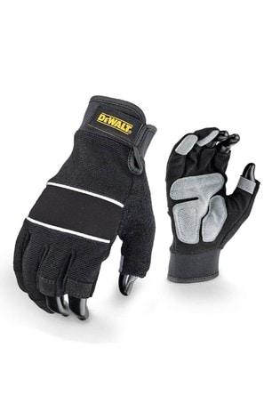 Dewalt Black Dpg214L Performance 3 Finger Glove