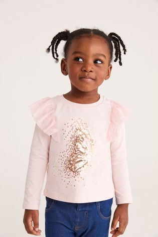 Baker by Ted Baker Pink Logo Top