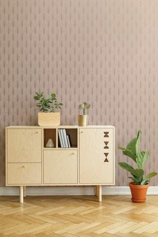Superfresco Easy Josephine Rosa Wallpaper by Art For The Home