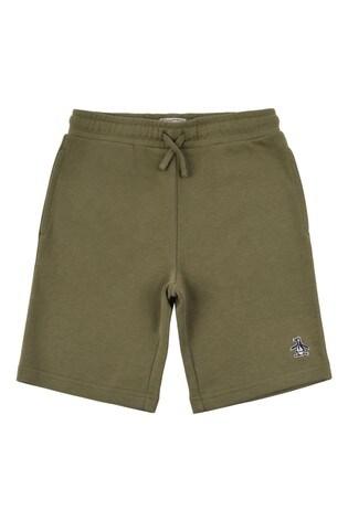 Original Penguin® Green Lb Sweat Shorts