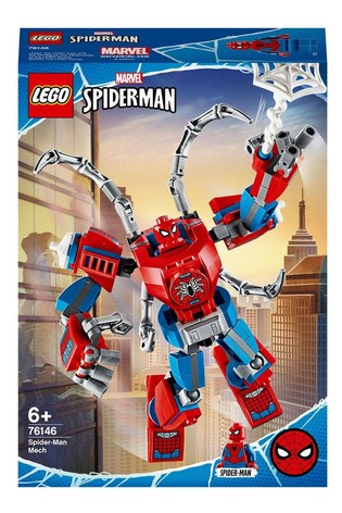 LEGO® Super Heroes Marvel® Spider-Man™ Mech Building Set 76146