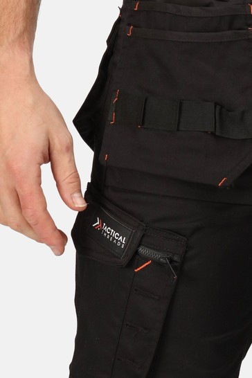 Regatta Black Incursion Holster Workwear Trousers